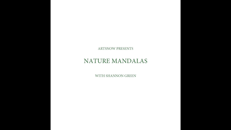 New Digital Ideas: Nature Mandalas