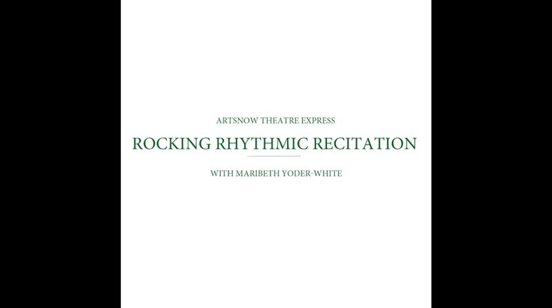 New Digital Ideas: Rocking Rhythmic Recitation