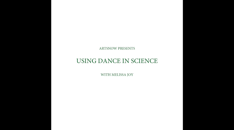 New Digital Ideas: Using Dance In Science