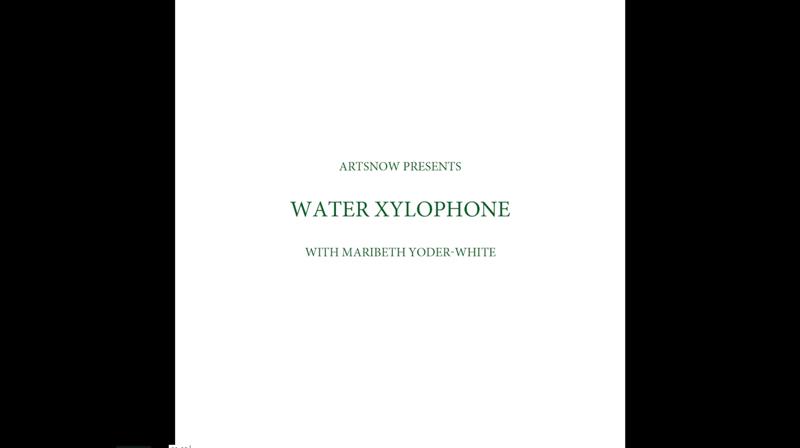 New Digital Ideas: Wacky Water Xylophone