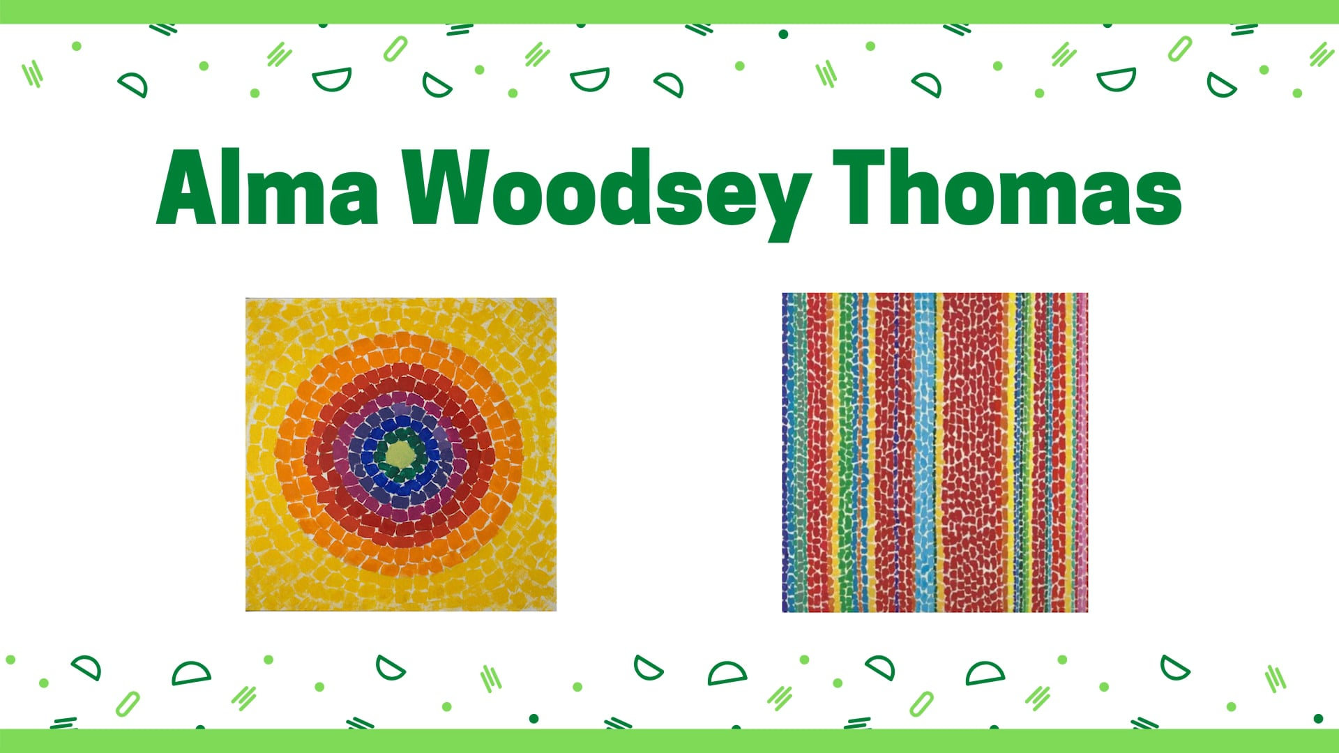 New Digital Ideas: Alma Woodsey Thomas Art Making