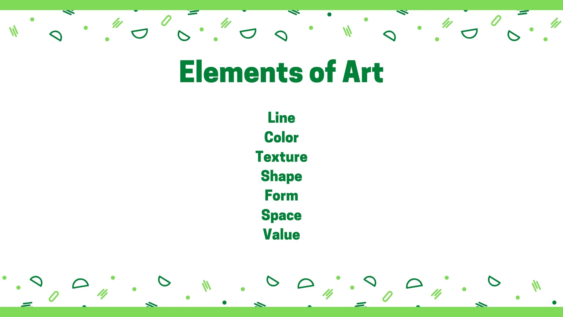 New Digital Ideas: Elements of Art