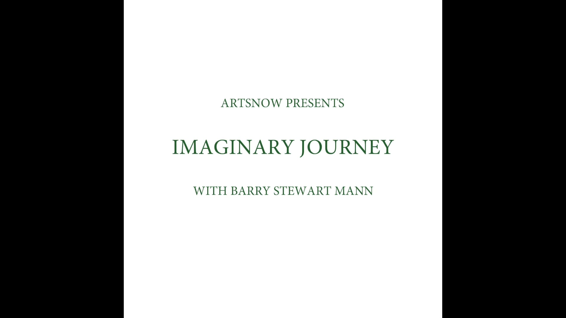 New Digital Ideas: Imaginary Journey
