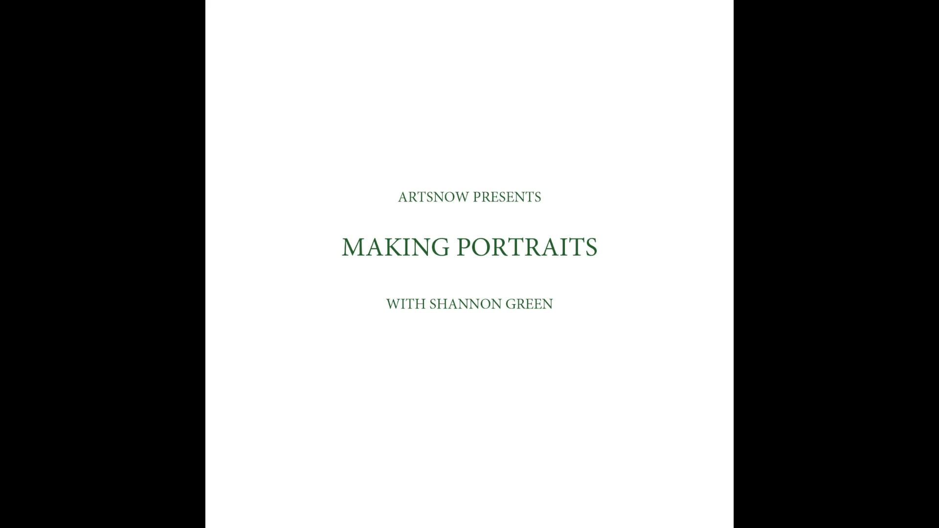New Digital Ideas: Making Portraits