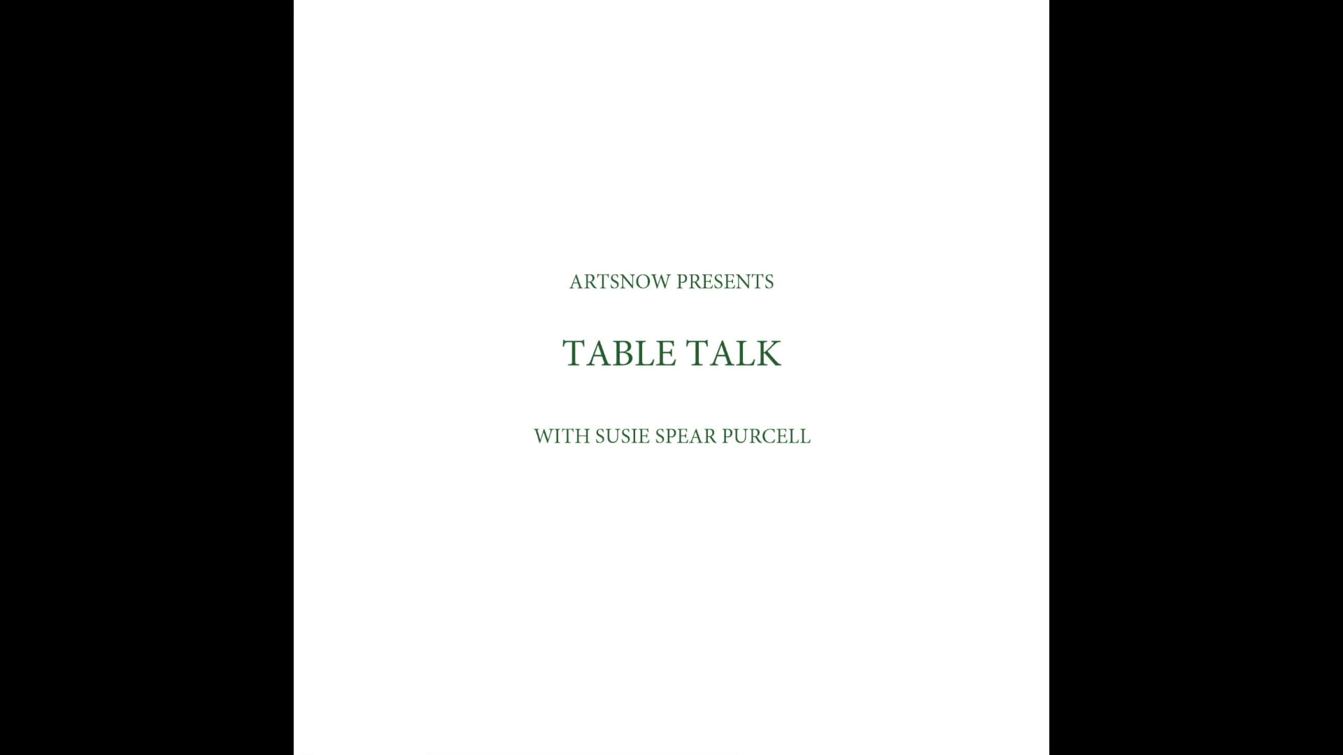 New Digital Ideas: Table Talk