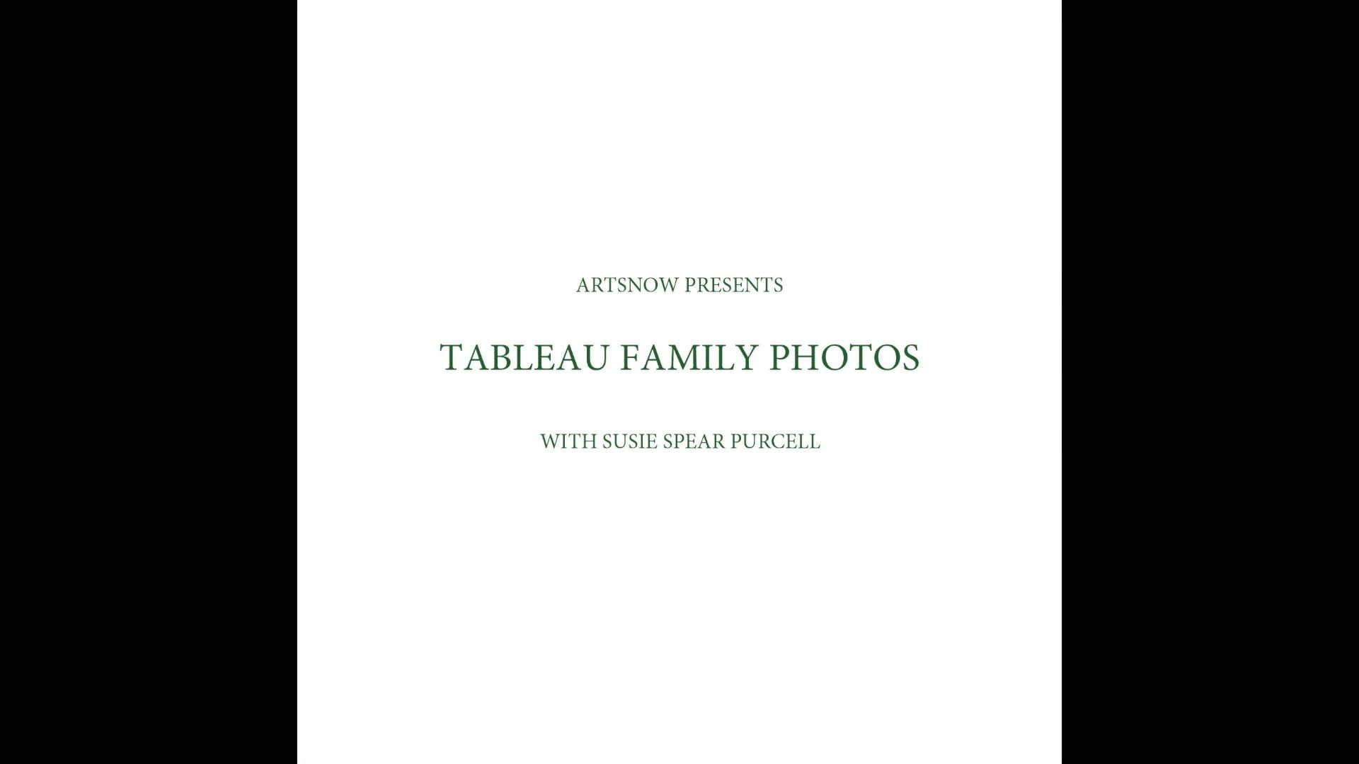 New Digital Ideas: Tableau Family Photos