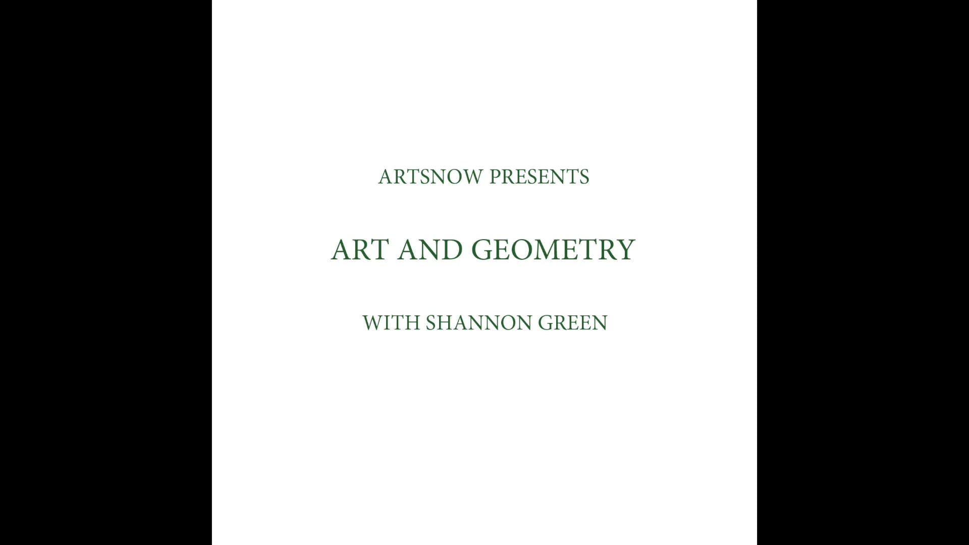 New Digital Ideas: Art and Geometry