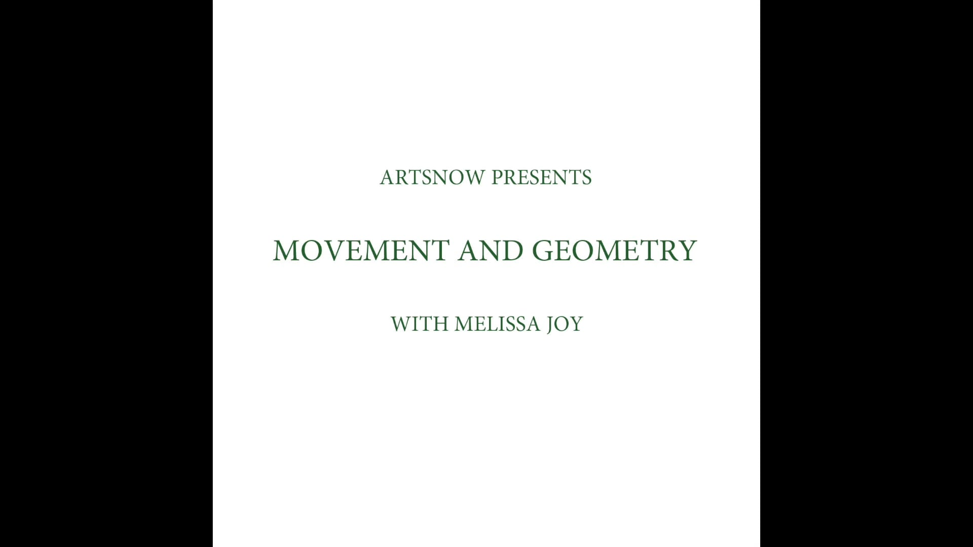 New Digital Ideas: Movement and Geometry