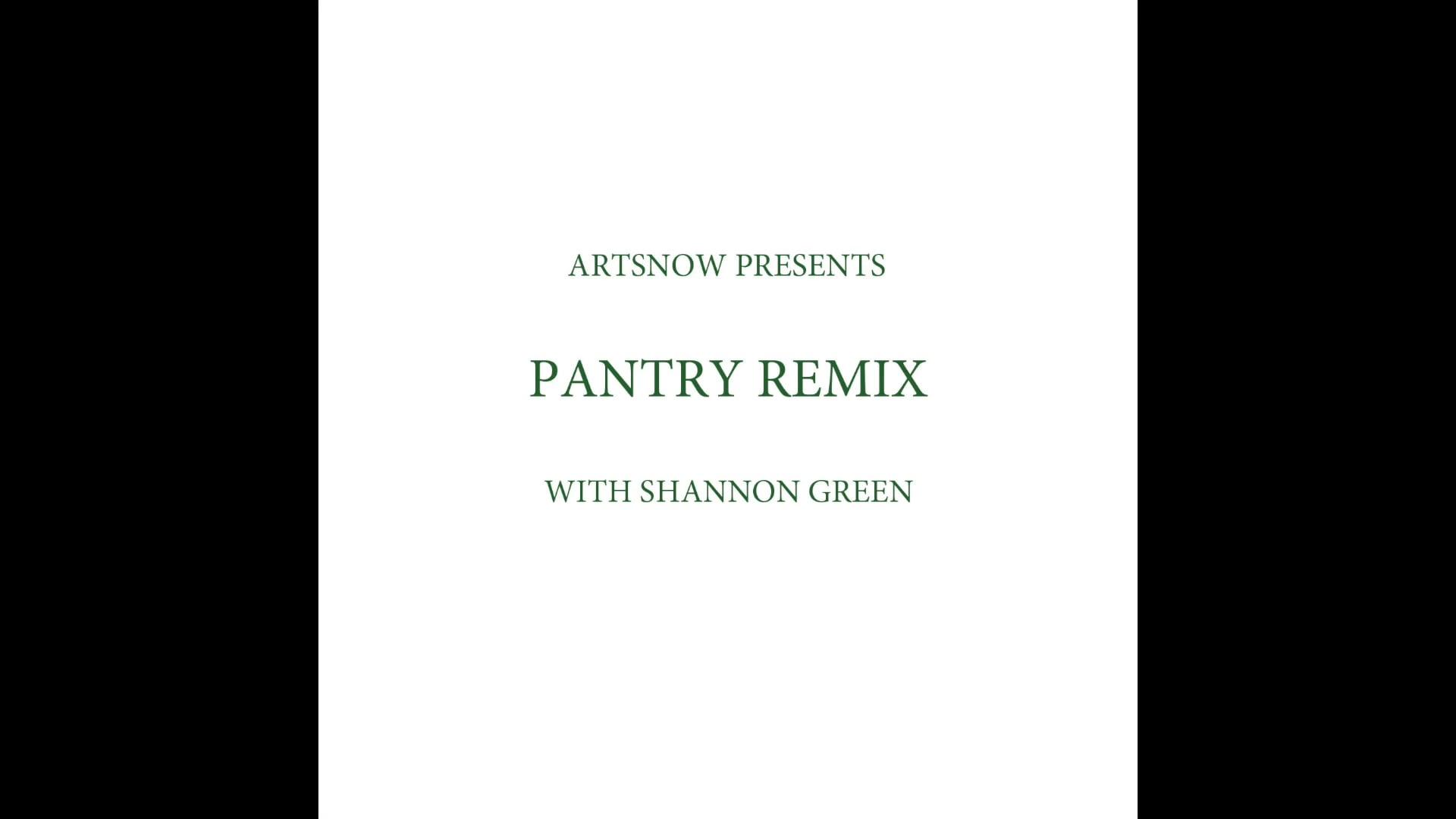 New Digital Ideas: Pantry Remix